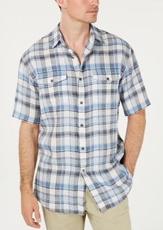Pendleton Men's Malone Plaid Linen Shirt