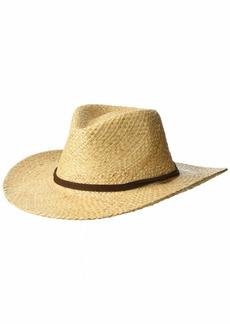 Pendleton Men's Outback Raffia Hat Natural