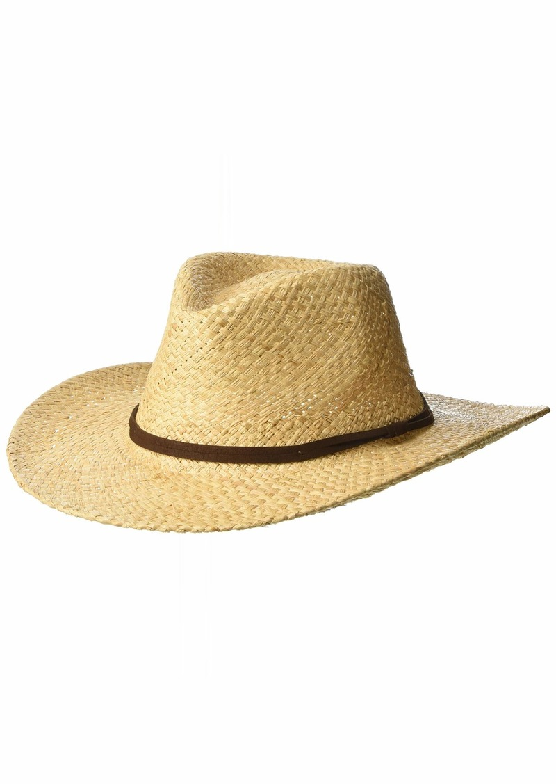 Pendleton Men's Outback Raffia Hat Natural XL