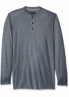 Pendleton Men's Outdoor Merino Henley Shirt  LG