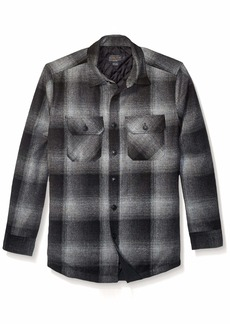 Pendleton Men's Quilted CPO in Wool Shirt Jacket  MD
