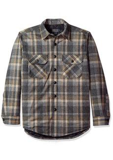 Pendleton Men's Quilted CPO Wool Shirt  LG