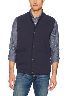 Pendleton Men's Reversible Knit Jacquard Vest Navy/Tan Harding-63894 LG