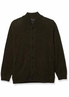Pendleton Men's Shetland Bomber Style Cardigan Sweater  XL