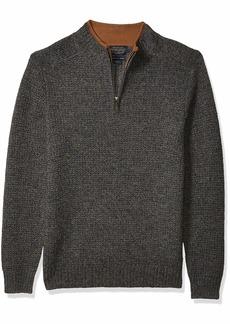 Pendleton Men's Shetland Half Zip Cardigan Sweater midnight camo SM