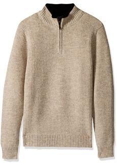 Pendleton Men's Shetland Half-zip Sweater  LG