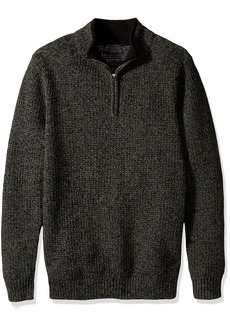 Pendleton Men's Shetland Half-Zip Sweater  SM