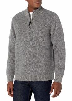 Pendleton Men's Shetland Quarter-Zip Sweater  XL