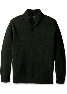 Pendleton Men's Shetland Shawl Collar Oullover Sweater  SM