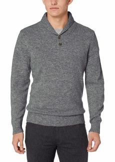 Pendleton Men's Shetland Shawl Collar Pullover Sweater  LG