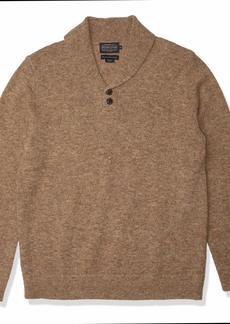 Pendleton Men's Shetland Shawl Collar Pullover Sweater  XXL