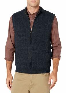 Pendleton Men's Shetland Zip Vest Sweater  SM