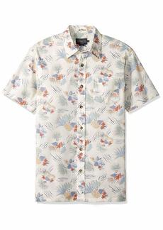 Pendleton Men's Short Sleeve Aloha Shirt  LG