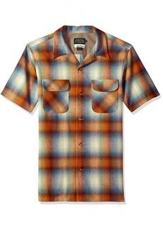 Pendleton Men's Short Sleeve Board Shirt sea Grass Ombre LG