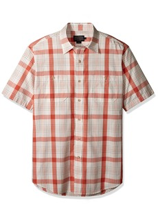 Pendleton Men's Short Sleeve Button Front Clear Lake Shirt  MD