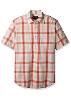 Pendleton Men's Short Sleeve Button Front Clear Lake Shirt  XL