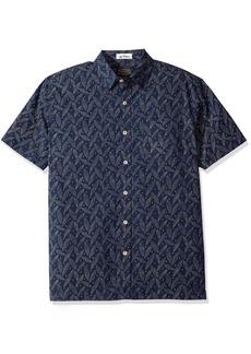 Pendleton Men's Short Sleeve Button Front Surf Print Shirt  XL