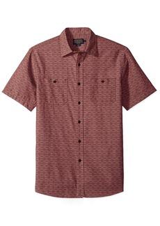 Pendleton Men's Short Sleeve Classic-Fit Chambray Shirt  MD