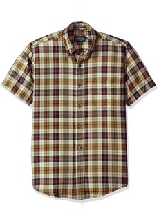 Pendleton Men's Short Sleeve Wool-Lin Shirt  LG