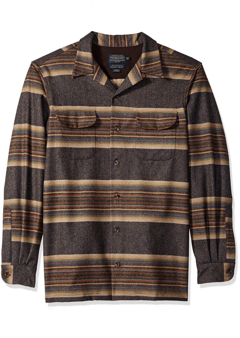Pendleton Mens Tall Size Big /& Tall Long Sleeve Board Shirt