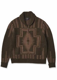 Pendleton Men's Zip Cardigan Sweater  MD