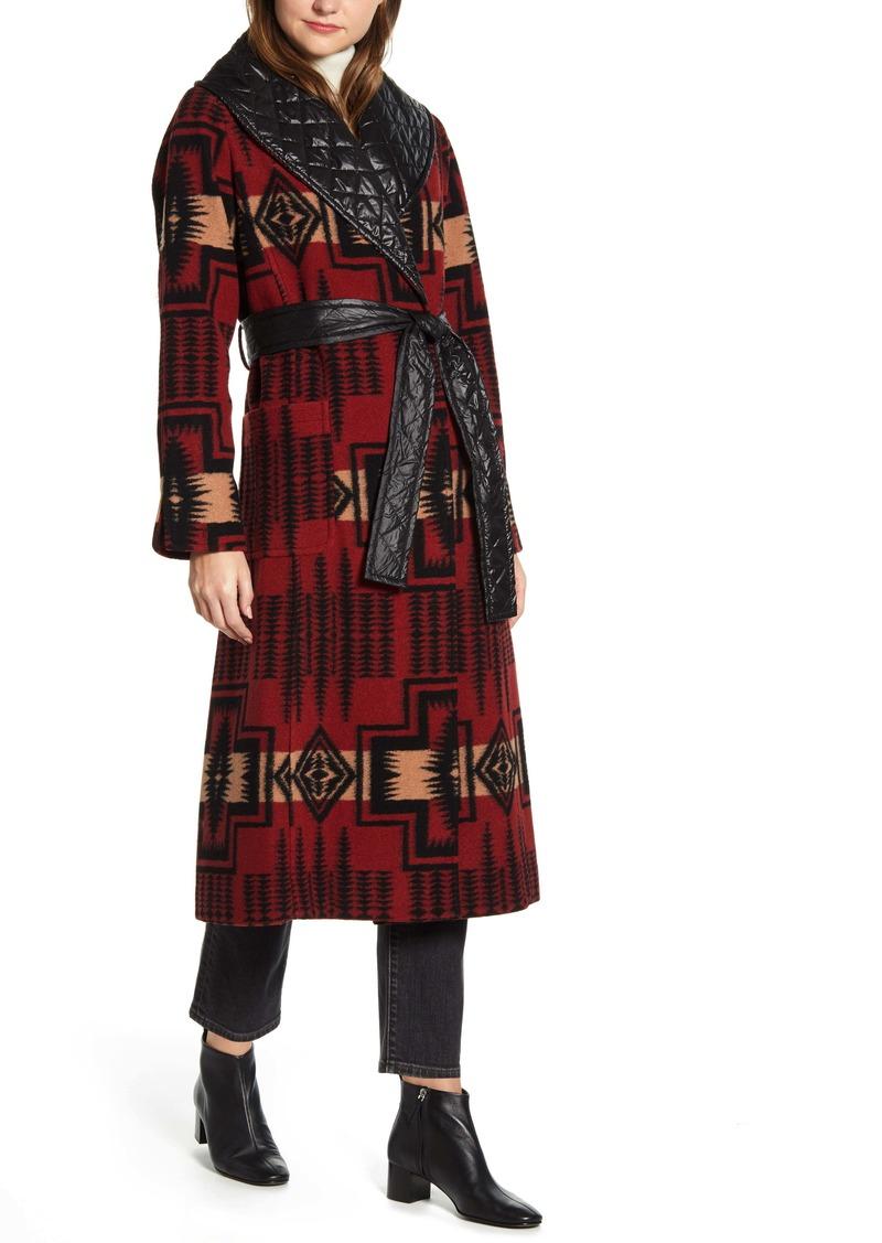 Pendleton Merrill Wool Blend Long Coat