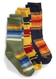 Pendleton National Park 3-Pack Crew Socks Gift Box