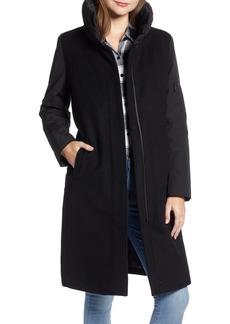 Pendleton Quebec Wool Blend Down Coat
