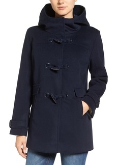 Pendleton Roslyn Waterproof Lambswool Blend Hooded Coat