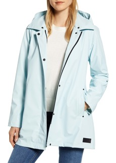 Pendleton Sonoma Packable Rain Jacket with Removable Hood
