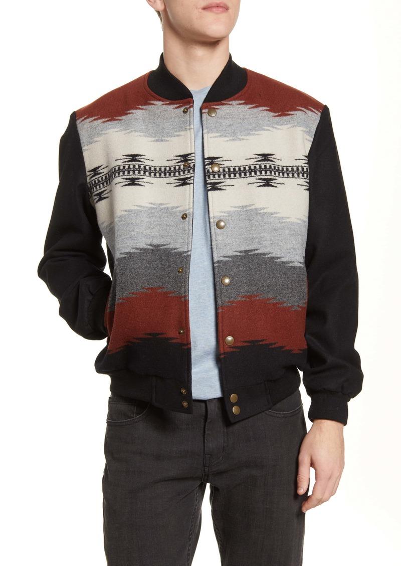 Pendleton The Gorge Wool Blend Bomber Jacket