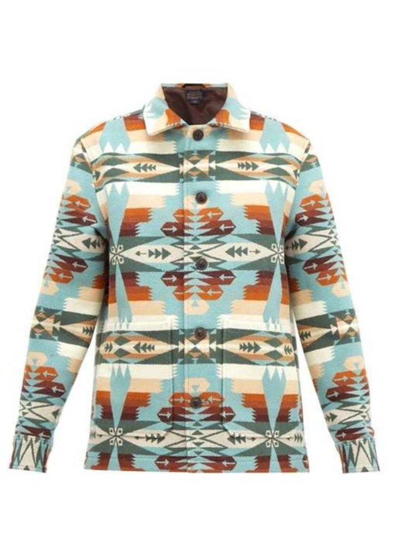 Pendleton Walking Rock wool-blend jacket