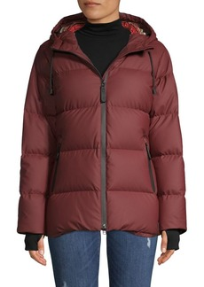 Pendleton Waterproof Down-Filled Hooded Puffer Coat