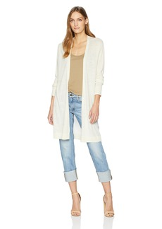 Pendleton Women's Airy Windowpane Long Cardi Sweater  LG