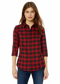 Pendleton Women's Audrey Fitted Flannel Shirt  MD