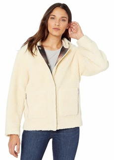 Pendleton Women's Berber Fleece Hooded Jacket  SM