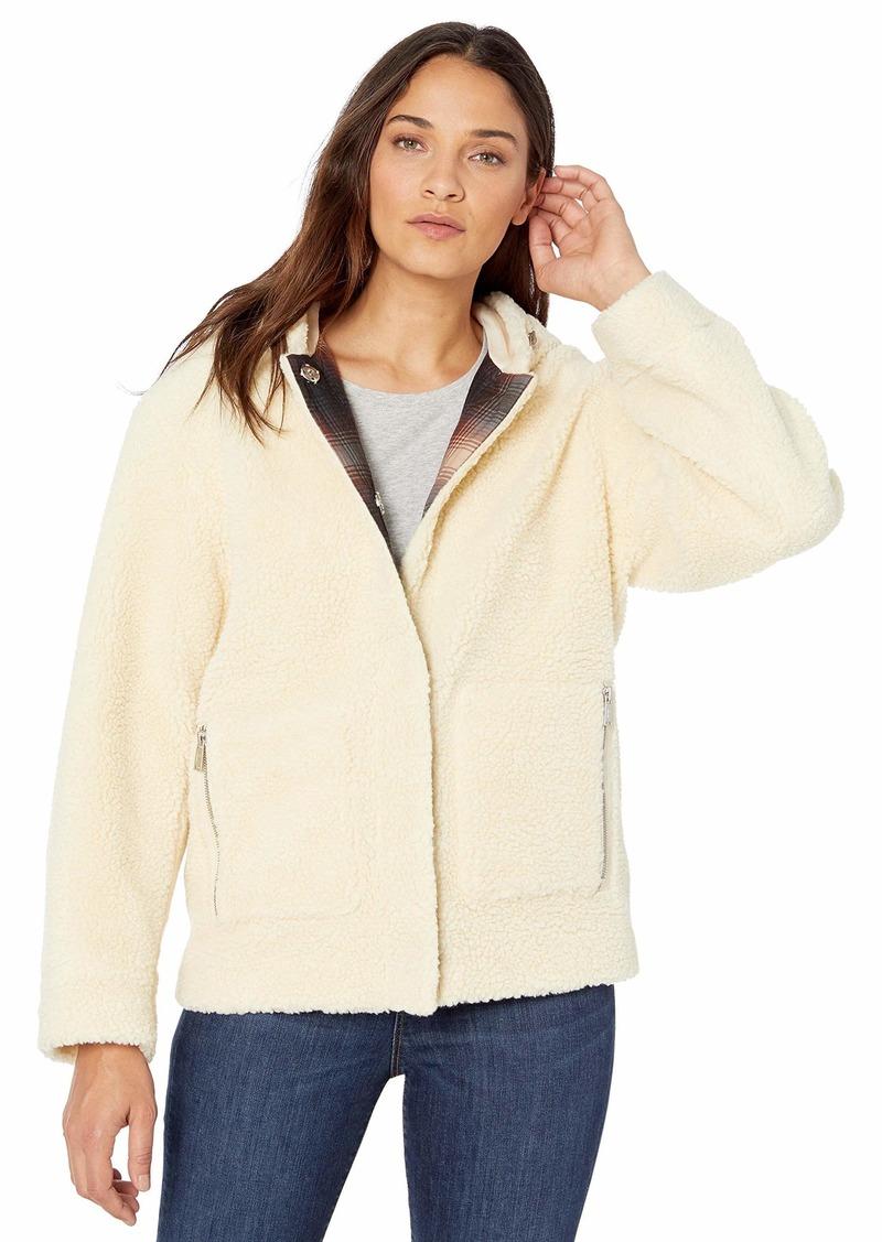Pendleton Women's Berber Fleece Hooded Jacket  SM