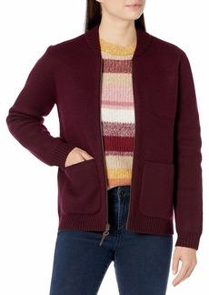 Pendleton Women's Boiled Wool Bomber Jacket  LG