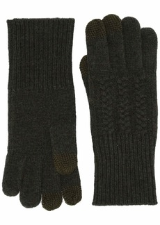 Pendleton Women's Cable Gloves evergreen