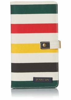 Pendleton Women's Canopy Canvas Passport Case glacier stripe
