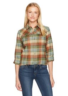 Pendleton Women's Christina Ultrafine Merino Wool Plaid Shirt  S