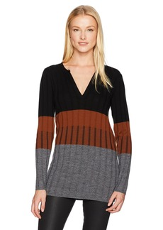 Pendleton Women's Colorblock Merino Pullover Tunic  L