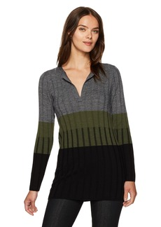 Pendleton Women's Colorblock Merino Wool Pullover Tunic  S