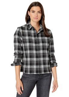 Pendleton Women's Cropped Lodge Shirt  MD