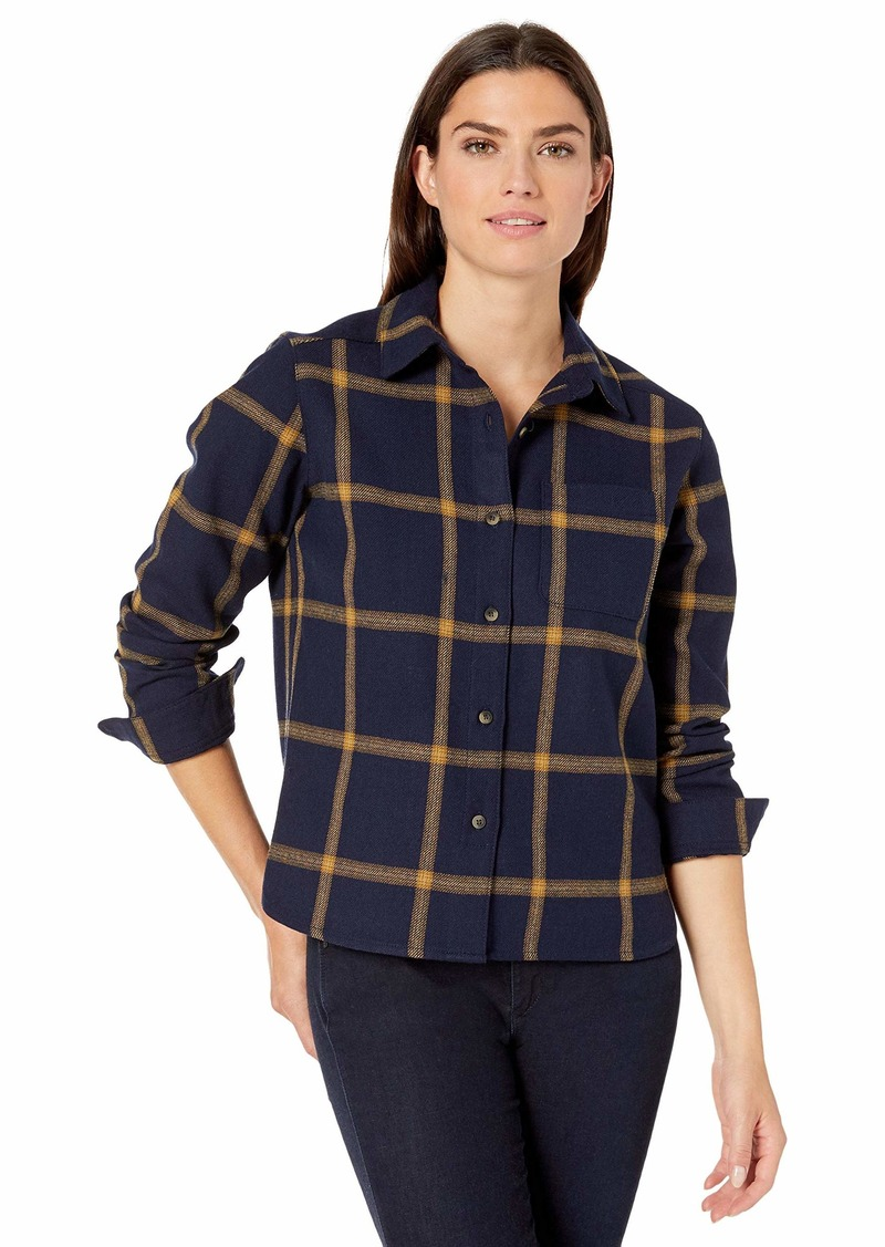 Pendleton Women's Cropped Lodge Shirt  XS