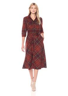 Pendleton Women's Cynthia Plaid Wool Shirtdress  S