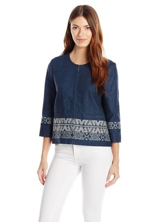 Pendleton Women's Embroidered Zip Jacket  L