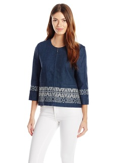 Pendleton Women's Embroidered Zip Jacket  S