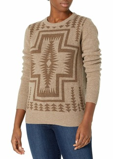 Pendleton Women's Harding Lambswool Crew Neck Sweater  LG