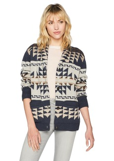 Pendleton Women's Iconic Shawl Collar Cardigan Sweater  SM
